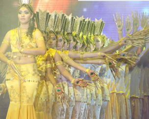 Danza hindú para Samuel