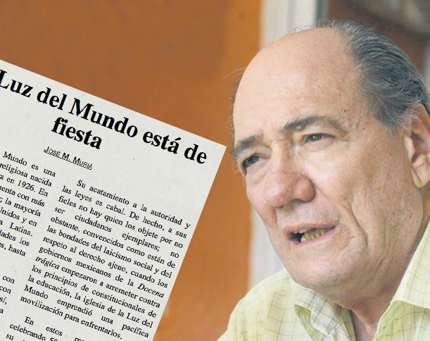 José María Muriá, ¿Otro vocero más de La Luz del Mundo?