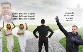 Predican a Naasón Joaquín y NO a Jesucristo