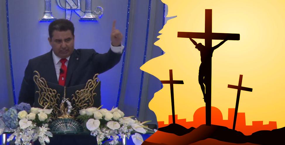 """Naasón Joaquín y su """"visión"""" de la pasión de Cristo"""