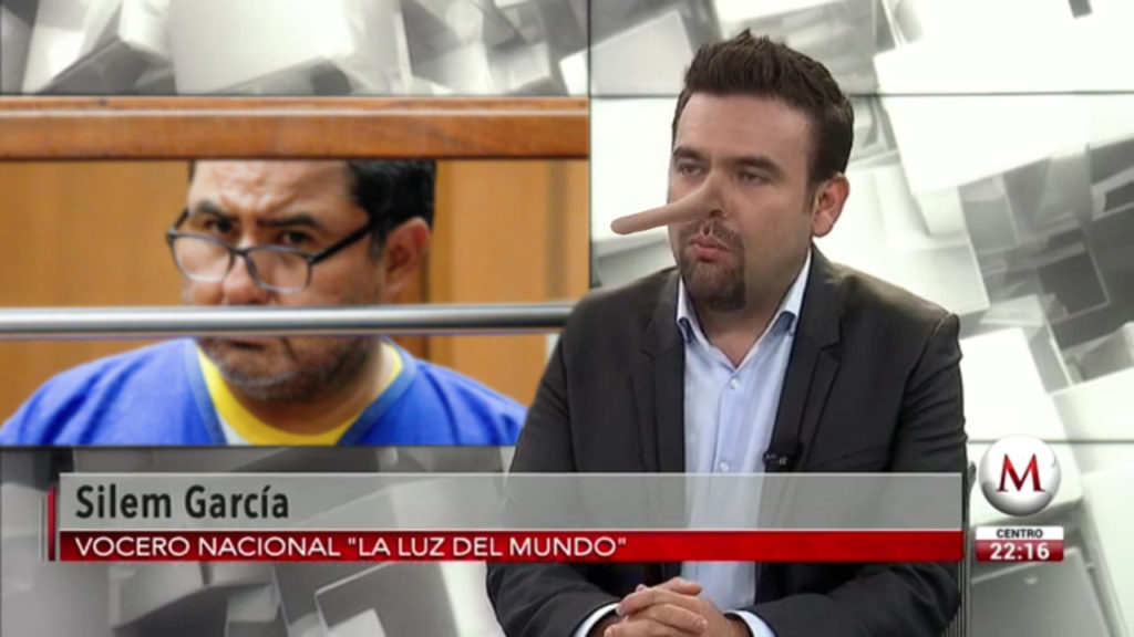 Las 7 burdas mentiras de Silem García sobre el arresto de Naasón Joaquín