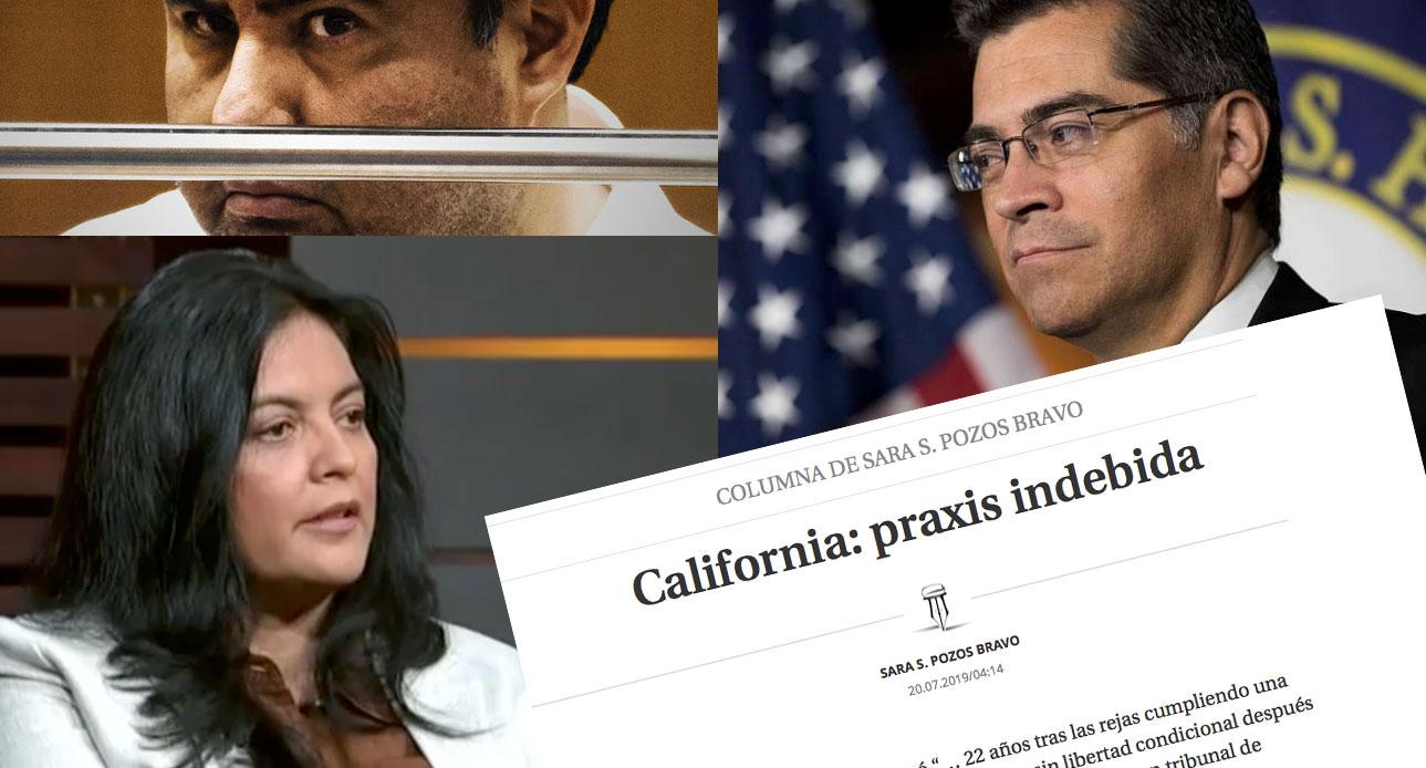 """California, un """"apóstol"""" en la cárcel que es """"inocente"""" aunque se demuestre lo contrario."""